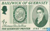 Postzegels - Guernsey - Drukker De La Rue