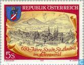 Postzegels - Oostenrijk [AUT] - Andrä im Lavanttal 650 jaar