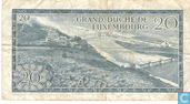Billets de banque - Grand - Duché de Luxembourg - Luxembourg 20 Francs