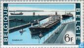 Briefmarken - Belgien [BEL] - Schleuse bei Zandvliet