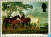 Postage Stamps - Great Britain [GBR] - British paintings