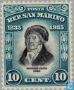 Briefmarken - San Marino - Delfico, Melchiorre