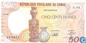 Congo (Braz.) 500 Francs