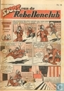 Bandes dessinées - Sjors van de Rebellenclub (tijdschrift) - 1957 nummer  16