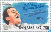 Postage Stamps - San Marino - Italian singers