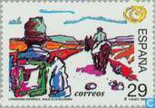Postage Stamps - Spain [ESP] - Spanish Literature Camillo José Cela