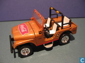 Voitures miniatures - Johnny Lightning - Jeep CJ-5 'Coca Cola'