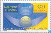 Postage Stamps - France [FRA] - New Eujropean Parliament Building