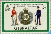 Timbres-poste - Gibraltar - Pionniers 1772-1972