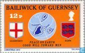 Postage Stamps - Guernsey - Peace on Earth
