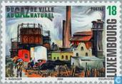 Postage Stamps - Luxembourg - 100 years gas plant in Esch-sur-Alzette