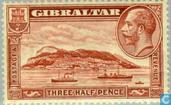 Timbres-poste - Gibraltar - Paysage
