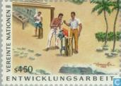 Postage Stamps - United Nations - Vienna - Development