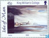 Postage Stamps - Man - Watercolors