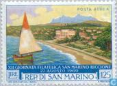 Timbres-poste - Saint-Marin - Int. Riccione Exposition philatélique