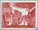 Postage Stamps - Norway - 125 Brown