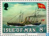 Briefmarken - Man - Steamboat Company Man 1830-1980