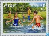 Postage Stamps - Ireland - Europe – Water, treasure of nature