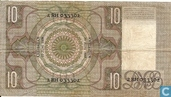 Bankbiljetten - Schilderijen Nederland - 10 Gulden Nederland 1939
