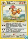 Trading cards - English 1999-01-09) Base Set (Unlimited) - Pidgeotto