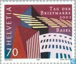 Postage Stamps - Switzerland [CHE] - Basilea '01 Stamp Exhibition