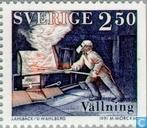 Timbres-poste - Suède [SWE] - Industrie du fer