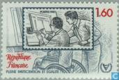 Postage Stamps - France [FRA] - Year of people with disabilities