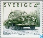 Postzegels - Zweden [SWE] - Zweedse auto's