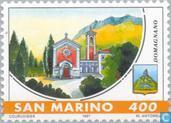 Timbres-poste - Saint-Marin - Les municipalités