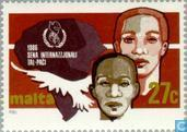 Postage Stamps - Malta - Int. Year of Peace