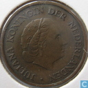 Coins - the Netherlands - Netherlands 5 cent 1954 (with broken E)