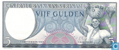 Banknoten  - Suriname - 1963 Issue - Suriname 5 Gulden 1963
