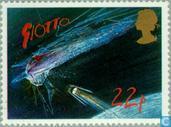 Timbres-poste - Grande-Bretagne [GBR] - La comète de Halley