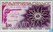 Timbres-poste - France [FRA] - Convention internationale du mètre