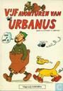 Comic Books - Urbanus [Linthout] - Vijf avonturen van Urbanus