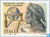 Postage Stamps - Italy [ITA] - Dante Society 100 years