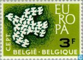Postage Stamps - Belgium [BEL] - Europe – Flying Pigeons