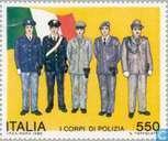 Postage Stamps - Italy [ITA] - Meeting European police