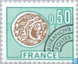 Postzegels - Frankrijk [FRA] - Gallische munt