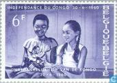 Postzegels - België [BEL] - Onafhankelijkheid van Congo