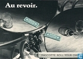 "B000023 - Mascotte ""Au revoir."""