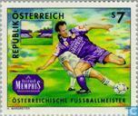 Postzegels - Oostenrijk [AUT] - Voetbalkamp: FK Austria - Memphis