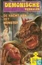 Strips - Demonische verhalen - De nacht van het monster