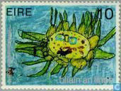 Postage Stamps - Ireland - Int. Year of the Child