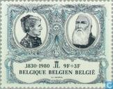 Postage Stamps - Belgium [BEL] - 150 years Independence