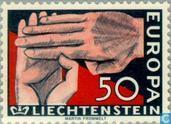 Postage Stamps - Liechtenstein - Europe – Hands