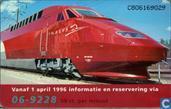 Thalys van Amsterdam naar Parijs