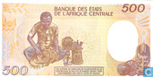 Banknoten  - Banque des Etats de l´Afrique Centrale - Kongo (bras.) 500 Franken