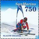 Timbres-poste - Saint-Marin - Olympische Spelen