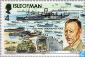 Postage Stamps - Man - Normandy Invasion 1954-1994